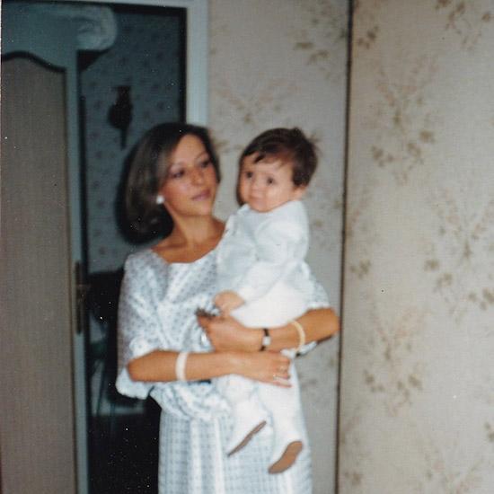 Nicolas & sa maman